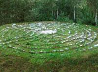 Sonnenlabyrinth in Mals, Marmorsteine