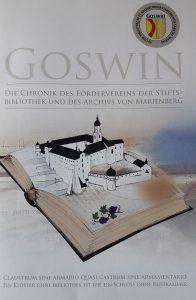 GOSWIN – Die Chronik des Fördervereins der Stiftsbibliothek und des Archivs von Marienberg.